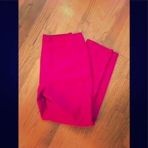 H&M Hot pink trouser pants